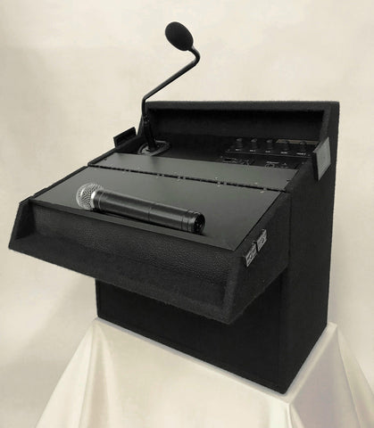 Tabletop Soundcraft Sound Lectern R750 Announcer-Tabletop Lecterns-Podiums Direct