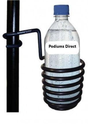 Metal Truss Beverage Holder-Wireless Microphones and Lights, Podium and Lectern Options-Podiums Direct