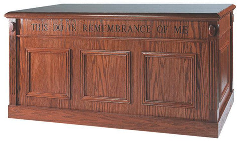 Communion Table TCT-105-Communion Tables and Altars-Podiums Direct