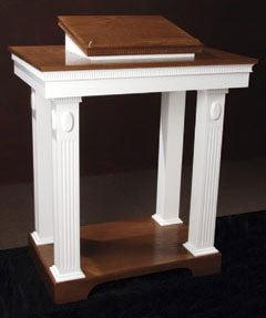 Church Wood Pulpit Colonial Open T0P-605 - FREE SHIPPING!