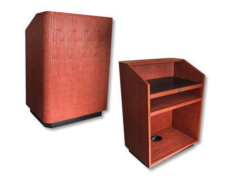Handcrafted Solid Hardwood Lectern Providence-Handcrafted Solid Hardwood Pulpits, Podiums and Lecterns-Podiums Direct