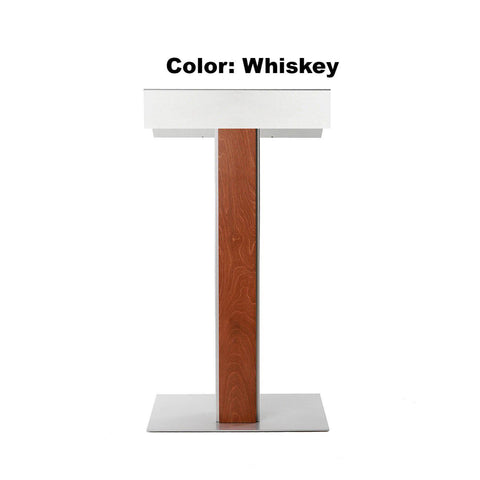 Contemporary Lectern and Podium Y-55. FREE SHIPPING!