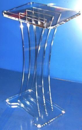 Acrylic Lectern with Square Top - FREE SHIPPING!