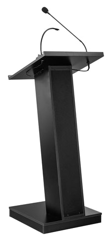 Sound Lectern ZED Oklahoma Sound. Color: Black.