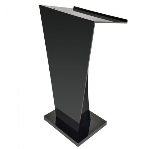 Acrylic Lectern Stylistic-Acrylic Pulpits, Podiums and Lecterns-Podiums Direct
