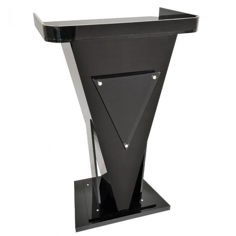 Acrylic Lectern Victory-Acrylic Pulpits, Podiums and Lecterns-Podiums Direct