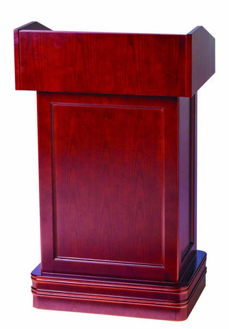 Valet Podium and Host Station, Classic Hostess Station. Cherry-Valet Podiums, Security, and Host Stations-Podiums Direct