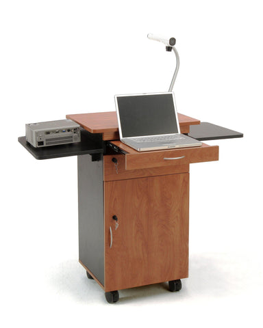 Multi Media Cart MMC Oklahoma Sound-Presentation AV Tablet Laptop Carts and Plasma LCD Stands-Podiums Direct
