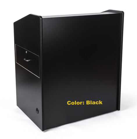 "Multimedia Lectern 41"" Rolling-Multimedia Podiums and Lecterns-Podiums Direct"