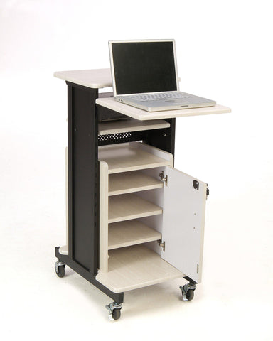 Presentation AV Cart PRC250 Oklahoma Sound Premium Plus-Presentation AV Tablet Laptop Carts and Plasma LCD Stands-Podiums Direct
