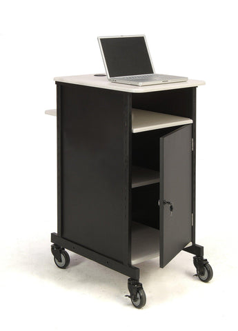 Presentation AV Cart PRC400 Oklahoma Sound Jumbo-Presentation AV Tablet Laptop Carts and Plasma LCD Stands-Podiums Direct