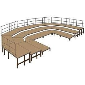 SBRC48HB Stage Set W/Hardboard By National Public Seating