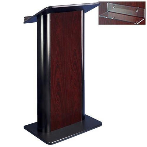 Contemporary Lectern and Podium SN3090 Color Panel Non-Sound-Contemporary Lecterns and Podiums-Podiums Direct