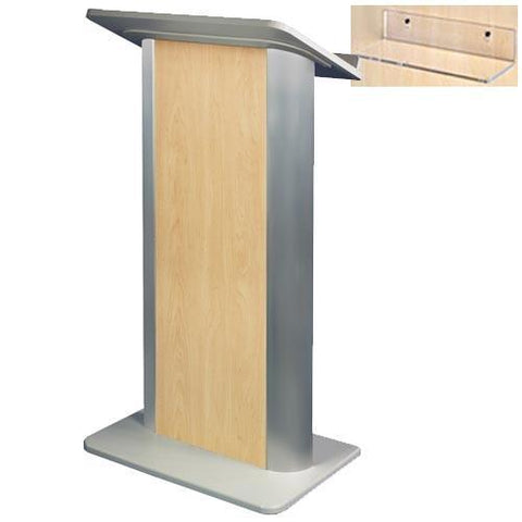 Contemporary Lectern and Podium SN3110 Color Panel Non-Sound-Contemporary Lecterns and Podiums-Podiums Direct