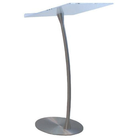 Metal Truss Arc Lectern with Acrylic Anti-Reflective Reading Surface SN3199