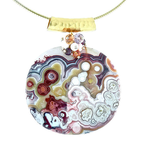 Lace Agate Jewelry