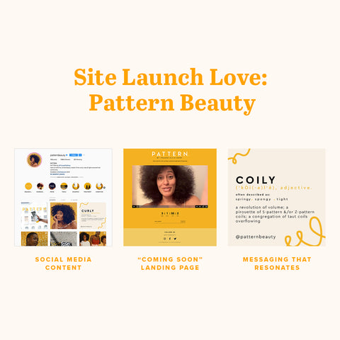 Site Launch Love: Pattern Beauty