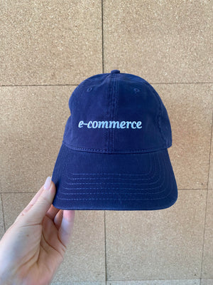 e-Commerce Dad Hat in Navy