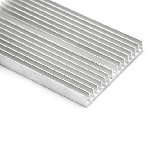 100x60x10mm Aluminum Heatsink For High Power TECs, LEDs, Amplifiers and Transistors - Envistia Mall