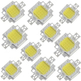 10W LED Daylight White 6000-6500K Super Bright High Power LED SMD COB Light Emitting Diodes 1-10 Pieces - Envistia Mall