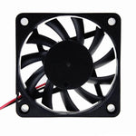 12V DC 60mm 2Pin 60x60x10mm CPU Cooling Computer PC Case Cooler 6010 Fan - Envistia Mall