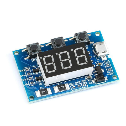 2-Channel 5V PWM Pulse / Square Wave Generator Module 1Hz-150KHz Frequency - Envistia Mall