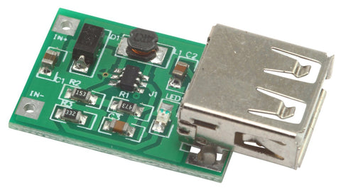 2.0V to 4.5V In 5V USB Out DC-DC PFM Boost Step-up Power Supply Converter Module - Envistia Mall