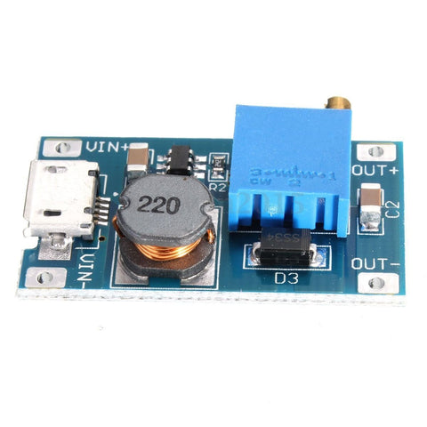 2V-28V MT3608 DC-DC Micro-USB Step Up Boost Power Supply Voltage Regulator Module - Envistia Mall