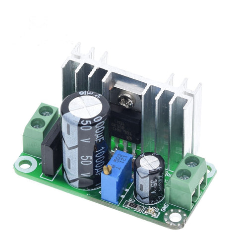 5-35VDC or 5-22VAC to 1-34VDC LM317T Adjustable Step Down Linear Regulator Converter Power Supply Module - Envistia Mall