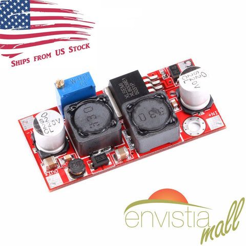 5V-32V Input to 1.5V-35V Output XL6009 Boost Buck Step Up Step Down DC-DC Converter - Envistia Mall