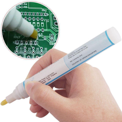 951 Soldering Flux Pen No Clean 10ml - for Printed Circuit Boards and Solar Cells - Envistia Mall