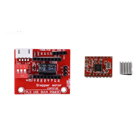 A4988 3D Printer Stepper Motor Driver Controller with Expansion Board - Envistia Mall