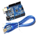Arduino Uno Starter Kit 400 Point Breadboard, 65 Jumpers, USB & Battery Cables - Envistia Mall