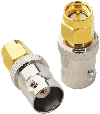 BNC Female Jack to SMA Male Plug RF Coaxial Adapter Connector from Envistia Mall