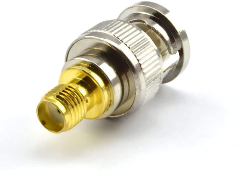 BNC Male Plug to SMA Female Jack RF Coaxial Adapter Connector - Envistia Mall