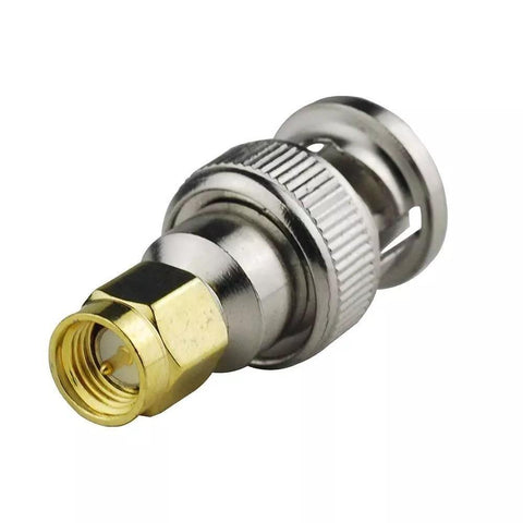 BNC Male Plug to SMA Male Plug RF Coaxial Adapter Connector - Envistia Mall