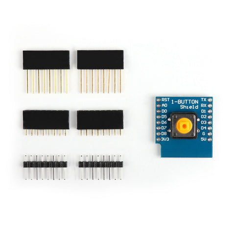 Button Shield for D1 Mini ESP8266 WiFi WeMos Module IoT Wireless Control - Envistia Mall
