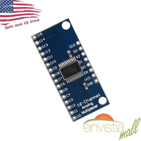 CD74HC4067 16-Channel Analog Digital Multiplexer Breakout Board Module for Arduino - Envistia Mall