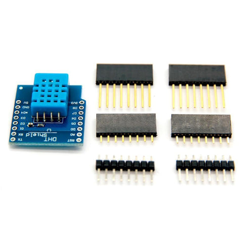 DHT11 Temperature And Humidity Shield for Wemos D1 Mini ESP8266 Arduino NodeMcu IOT - Envistia Mall