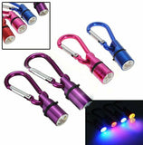 Flashing LED Safety Tag Pendant for Dog & Cat Collars Aluminum Waterproof Very Bright - Envistia Mall