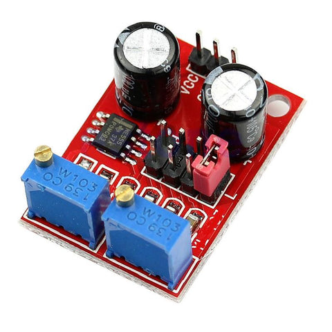 NE555 Duty Cycle Adjustable Pulse Frequency Square Wave Signal Generator Module - Envistia Mall