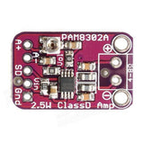 PAM8302A Miniature 2.5W Class D Mono Audio Power Amplifier Module Board - Envistia Mall