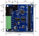 PES-2404 PHPoC DC Motor Controller Board for PHPoC Blue and Black Development Boards - Envistia Mall