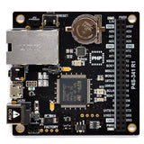 PHPoC Black Ethernet Wired LAN Programmable IoT Development Board P4S-341 - Envistia Mall