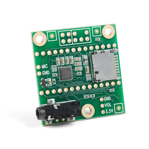 PJRC Audio Adapter Shield Rev C SGTL5000 for Teensy 3.0 - 3.6 Microcontroller - Envistia Mall