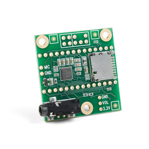 PJRC Audio Adapter Shield Rev D SGTL5000 for Teensy 4.0 Microcontroller - Envistia Mall