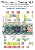 PJRC Teensy 4.1 iMXRT1062 Microcontroller Development Board - Envistia Mall