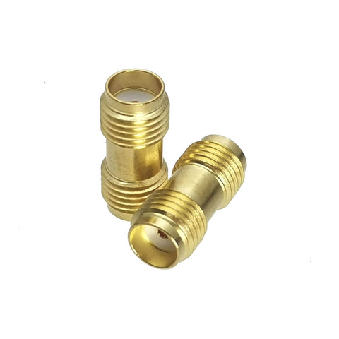 SMA Female to SMA Female (Socket to Socket) Series RF Coaxial Adapter Connector - Envistia Mall