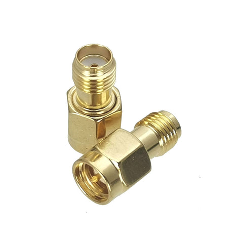 SMA Female to SMA Male (Socket to Pin) Series RF Coaxial Adapter Connector - Envistia Mall