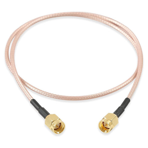SMA Male Plug to SMA Male Plug RG316 Cable Jumper Pigtail 12 Inch - Envistia Mall